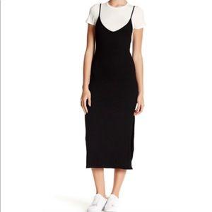 Soprano Knit Twofer dress M NWOT